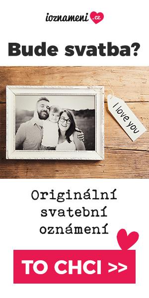 Originální svatební oznámení - oznámení 1