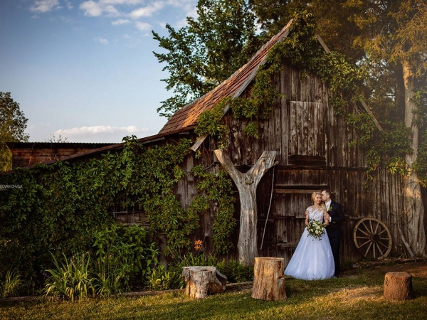 Svatební místo - Ekofarma Sádky