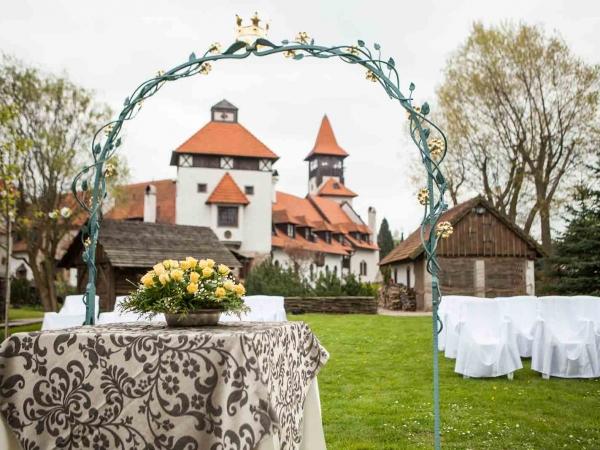 Svatební místo - Hrad Červený Újezd