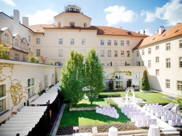 Svatební místo - Mandarin Oriental, Prague
