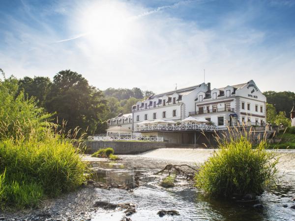 Svatební místo - Romantický Hotel Mlýn v Karlštejně