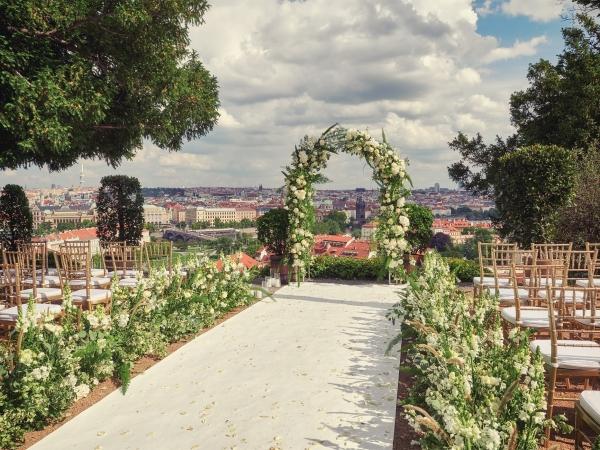 Svatební místo - Villa Richter a Svatováclavská vinice