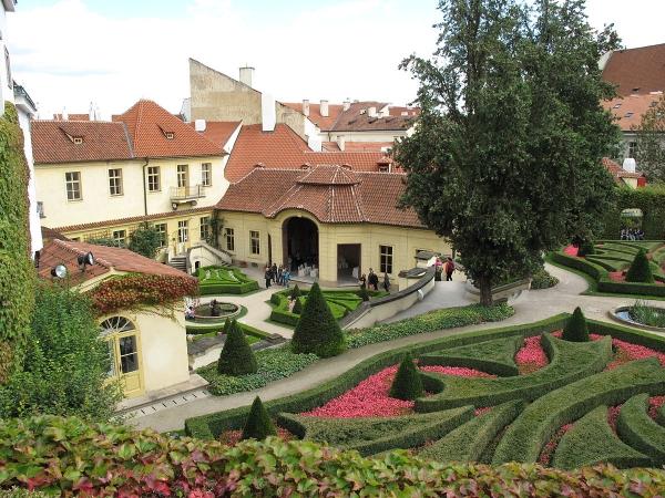 Svatební místo - Vrtbovská zahrada