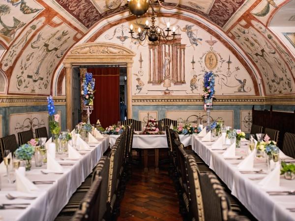Svatební místo - zámecká restaurace Rychta Brandýs