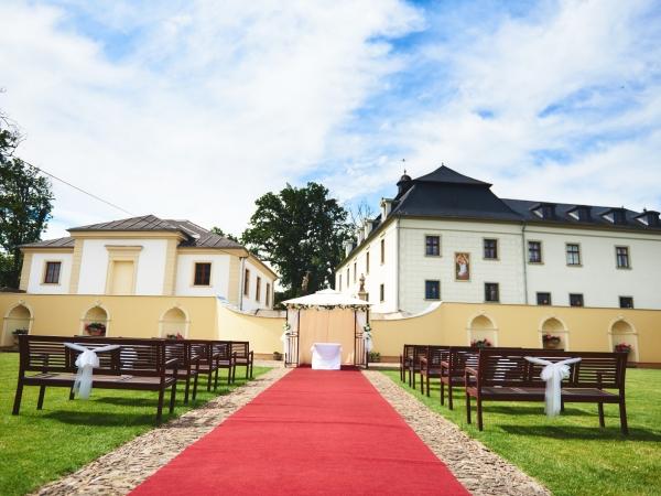 Svatební místo - Zámecká restaurace Štáblovice