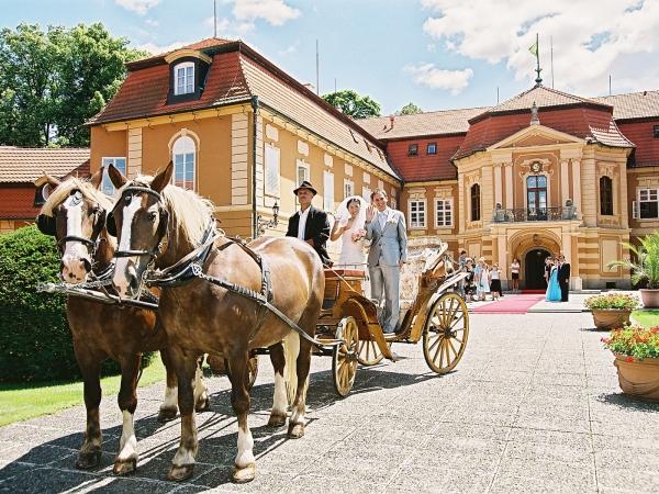 Svatební místo - Zámek Štiřín