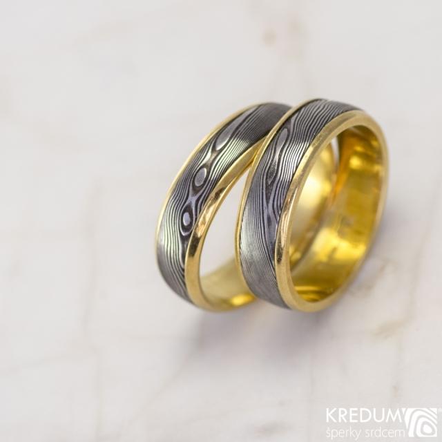 Jak se vyrábí netradiční snubní prsteny