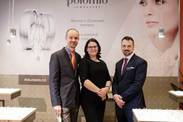 Polomio Showroom aneb třpyt snubních prstenů na vlastní oči