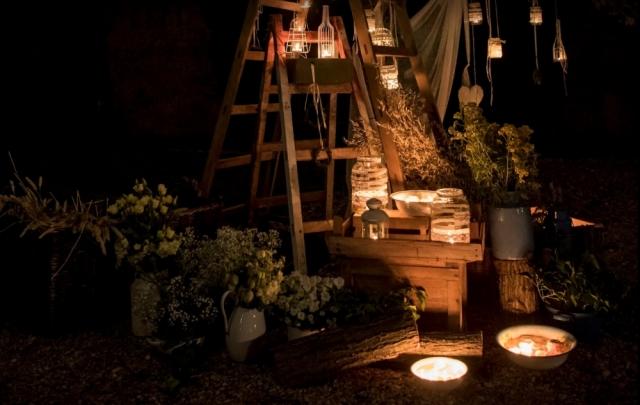 Dekorace na svatbu a květinová výzdoba