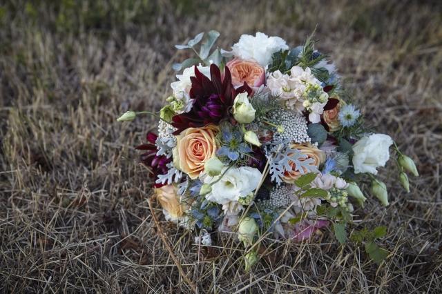 Svatební kytice má podtrhnout dojem nevěsty