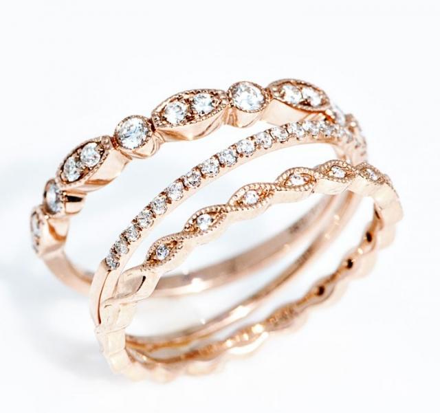 Rose gold svatba aneb když bílá nestačí