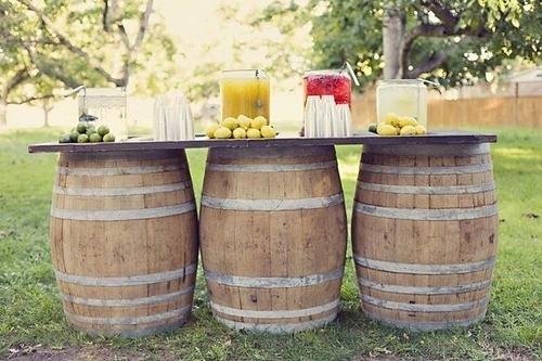 6 důležitých dekorací pro rustikální svatbu
