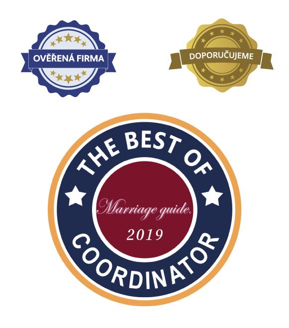 Vybíráme nejlepší svatební koordinátory roku!