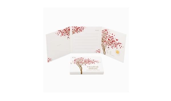 Dárkového balení pro svatební dukáty