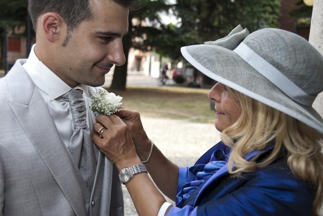 Zaostřeno na matku svatby
