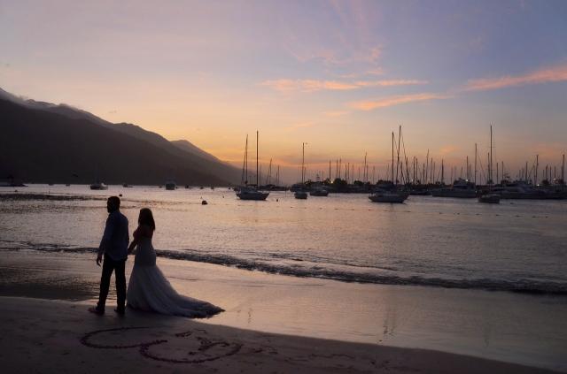 Svatba jen a jen o vás. Taková je tajná svatba v exotice.