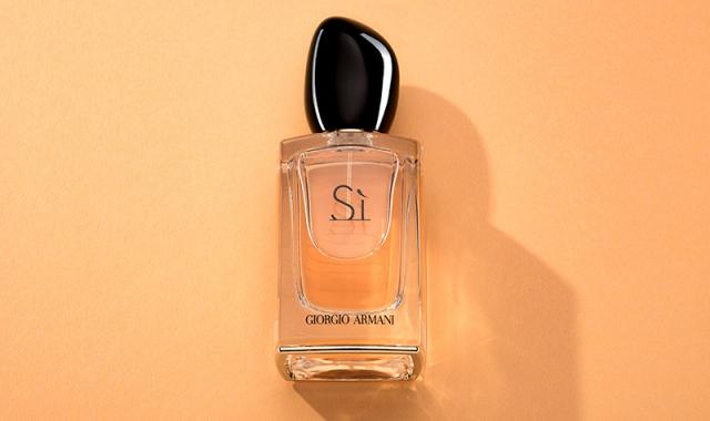 Parfémovaná voda od Giorgio Armani s výmluvným názvem Sì
