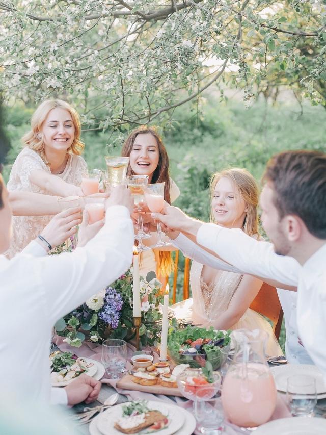 Když vás láká uspořádat (levnou) domácí svatbu!