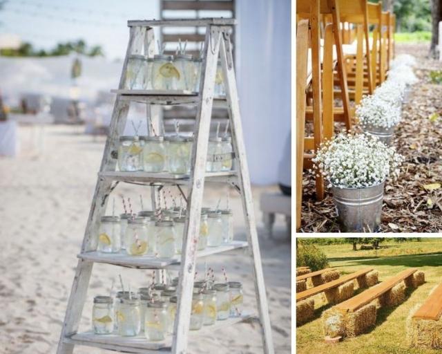 Originální svatební dekorace, kterými hostům vytřete zrak