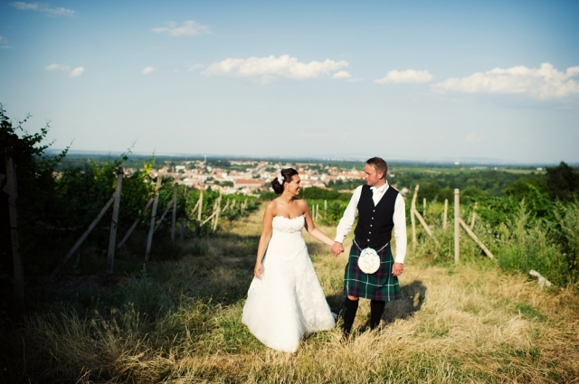 Skotská svatba na moravské půdě, trefa do černého