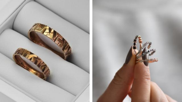 Snubní prsteny na míru vašemu přání