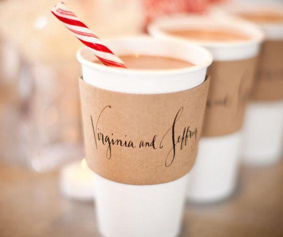 Horké nápoje na vaší zimní svatbě nesmí chybět