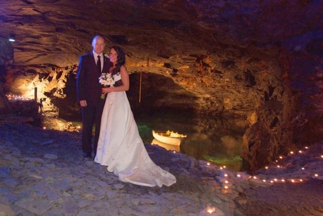 Cornwall – svatby v jeskyních