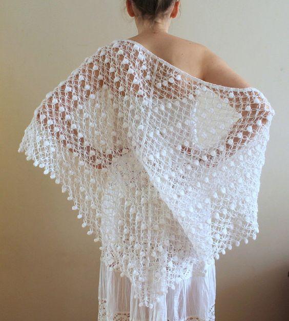 Háčkovaná móda pro nevěsty