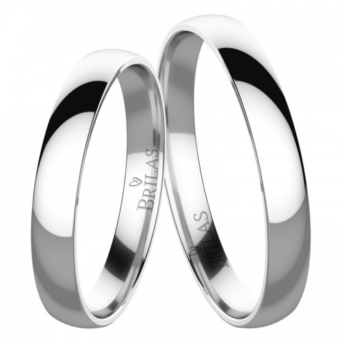 Snubní prsteny greta white