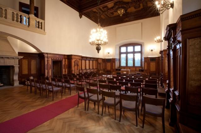 Svatby na zámku Průhonice