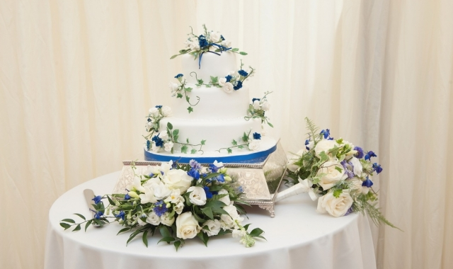 Anglický svatební dort