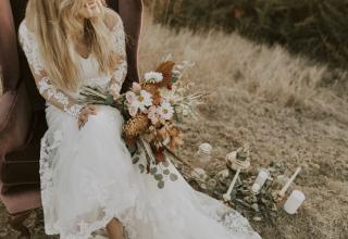 Boho svatební šaty: Sluší romantickým vílám i nespoutaným divoškám