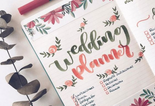 DIY svatební diář: Plánování veselky jedna báseň