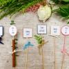 DIY – zapichovátka do cupcakes a svatebního dortu