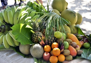 Exotické ovoce na svatbě
