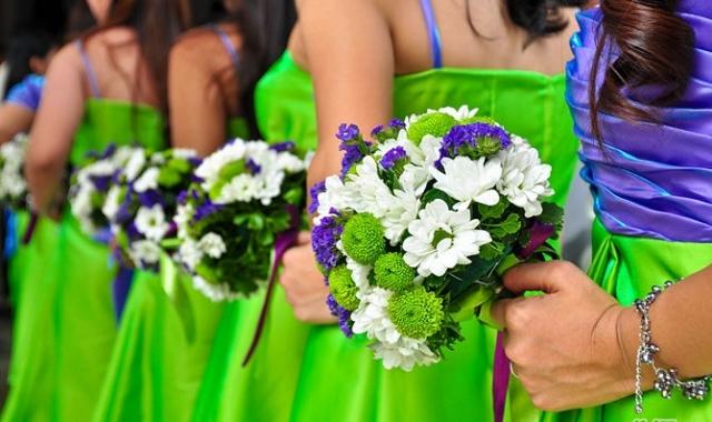 Jak si vybrat tu pravou barvu pro vaši svatbu