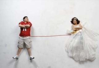Joy a Mikovo svatební oznámení