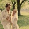 Novomanželé Dykovi vsadili na folklór a romantiku