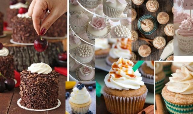Trendem sladkostí na svatební hostině jsou tematické muffiny