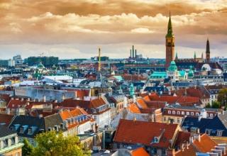 Originální svatba v romantické v Kodani