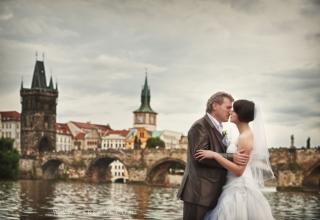 Portrétní focení novomanželů