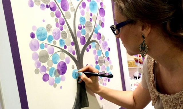 Strom splněných přání elegantně řeší svatební dary