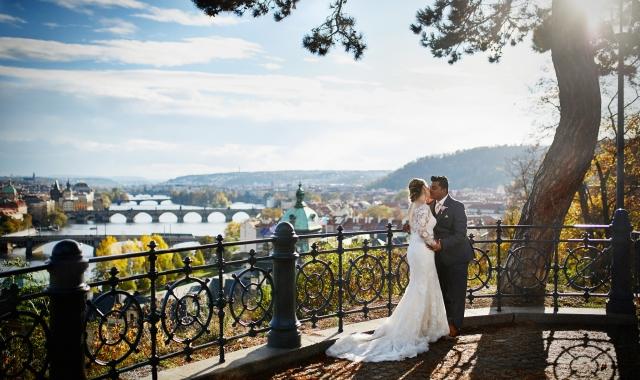 Svatba Kristiny a Gulshana v Praze