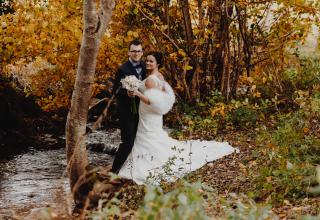 Svatba na podzim? Nezapomeňte na bolerko či pelerínu