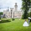 Svatba na pohádkovém zámku Hluboká
