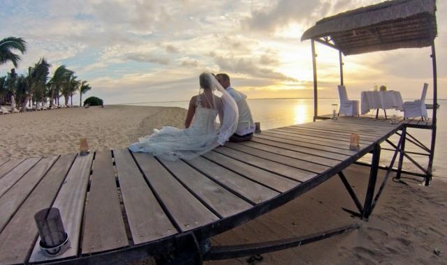 Svatbu na exotickém ostrově Mauritius