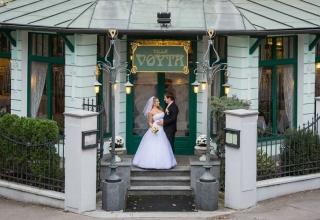 Svatební hostina v krásném Hotelu Villa Voyta