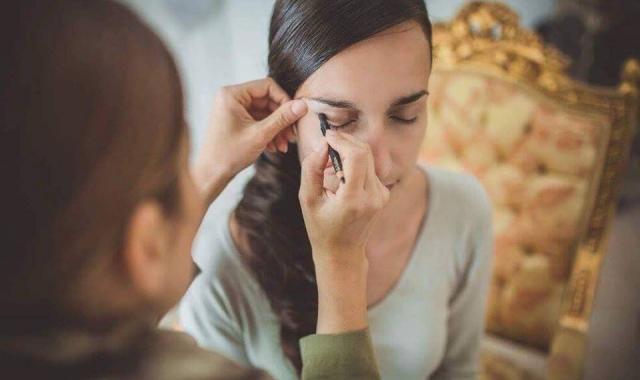 Svatební líčení podle Licy Arabadzi