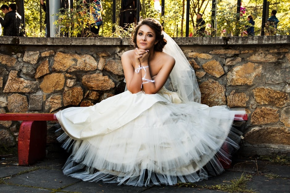 5a083fe9d904 Svatební šaty jako princezna