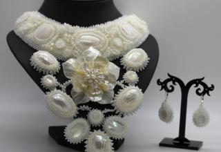 Svatební šperky z korálků